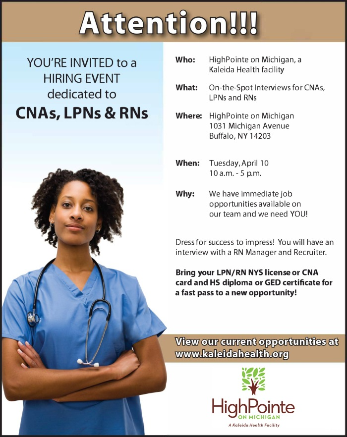 Nursing Job Fair
